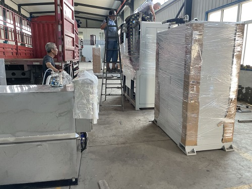 Shipment of our hardening machines