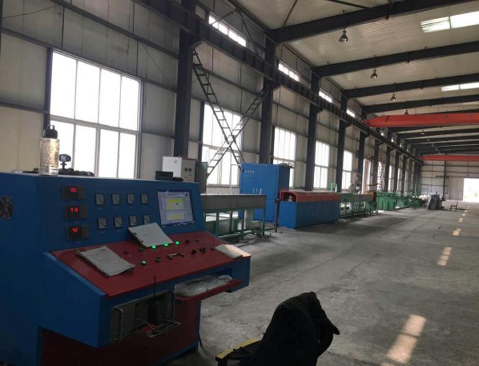 PC steel bar induction heating equipment