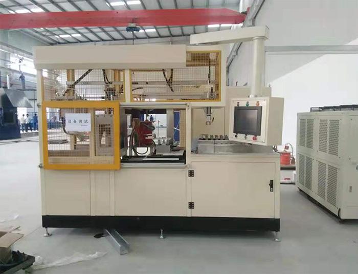 Clutch Disc Induction Hardening Machine