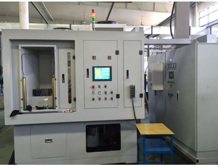 Multi-position induction hardening equipment