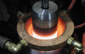 Besides heating metals, what other usage does the high frequency induction heating equipment have?
